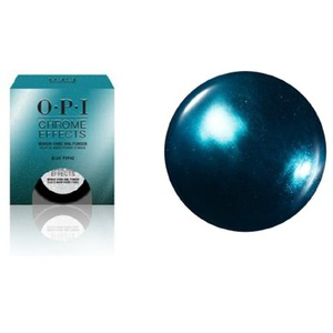 "OPI CHROME EFFECTS - Mirror Shine Nail Powder - Blue ""Plate"" Special 0.1 oz. - 3 grams (CP004)"