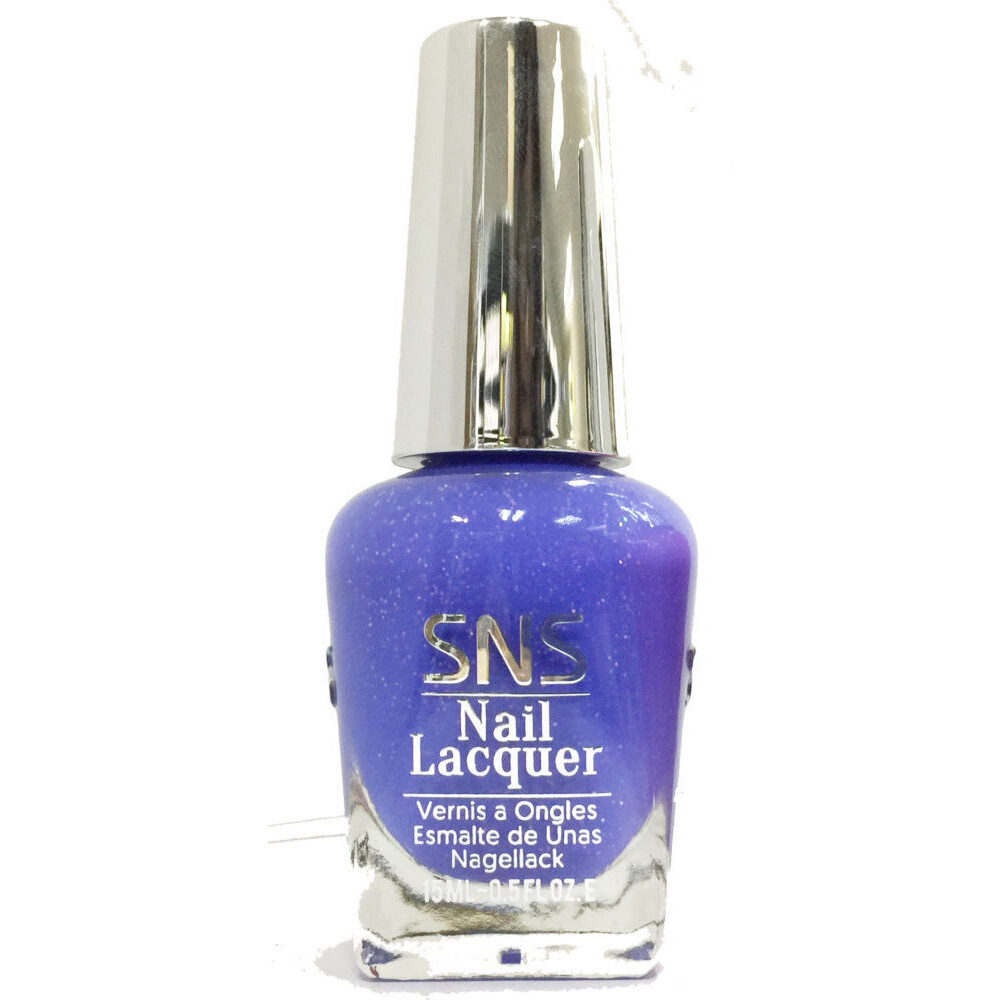 Long Wear Nail Lacquer - Matches SNS Dipping Powder! - CRYSTAL BLUE ...