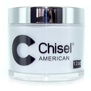 Chisel 2-in-1 Acrylic & Dipping Powder - 12 OZ. REFILL SIZE - AMERICAN 12 oz. ()