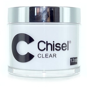Chisel 2-in-1 Acrylic & Dipping Powder - 12 OZ. REFILL SIZE - CLEAR 12 oz. ()