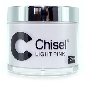 Chisel 2-in-1 Acrylic & Dipping Powder - 12 OZ. REFILL SIZE - LIGHT PINK 12 oz. ()