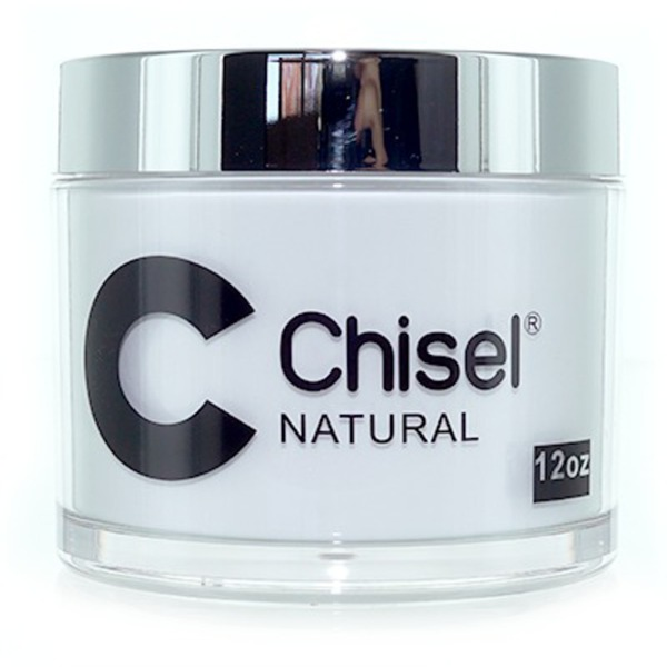 Chisel 2-in-1 Acrylic & Dipping Powder - 12 OZ. REFILL SIZE - NATURAL 12 oz. ()