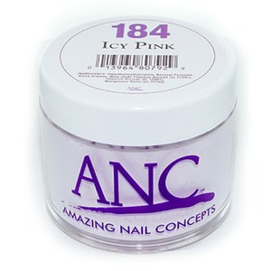 ANC Dip Powder - ICY PINK #184 2 oz. - part of the ANC Acrylic Nails Dipping System (#184)