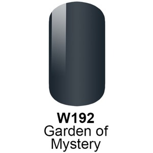 WaveGel Matching Soak Off Gel Polish & Nail Lacquer - GARDEN OF MYSTERY - W192 0.5 oz. Each (W192)