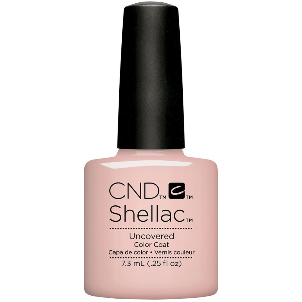 Shellac - Nude The Collection - Uncovered 0.25 oz. - The 14 Day ...