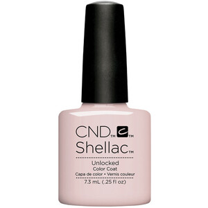 CND Shellac - Nude The Collection - Unlocked 0.25 oz. - The 14 Day Manicure is Here! (768613)
