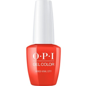OPI GelColor Soak Off Gel Polish - Lisbon Collection - A Red-vival City - #GCL22 (#GCL22)