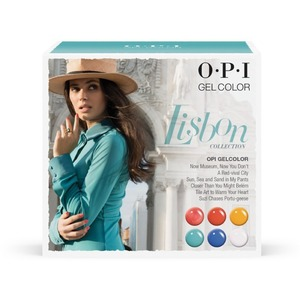 OPI GelColor Soak Off Gel Polish - Lisbon Collection - Add-On Kit #2 - 6 Pieces (GC763)