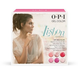 OPI GelColor Soak Off Gel Polish - Lisbon Collection - Add-On Kit #1 - 6 Pieces (GC762)