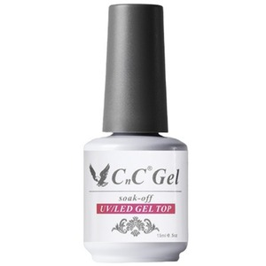 CnC Soak-Off Gel Top - Compatible with ANY Soak Off Gel Polish Brand! 0.5 oz. (17614-Top)
