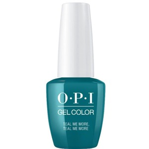 OPI GelColor Soak Off Gel Polish - Grease Collection - #GCG45 Teal Me More Teal Me More 0.5 oz. (#GCG45)