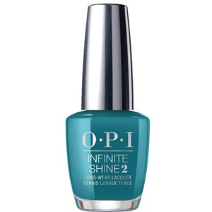 OPI Infinite Shine - Air Dry 10 Day Nail Polish - Grease Collection - #ISLG45 Teal Me More Teal Me More 0.5 oz. (#ISLG45)