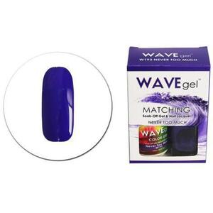 WaveGel Matching Soak Off Gel Polish & Nail Lacquer - W193 - Never Too Much 0.5 oz. Each (11490-W193)