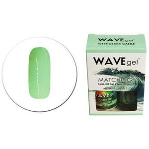 WaveGel Matching Soak Off Gel Polish & Nail Lacquer - W198 - Osaka Castle 0.5 oz. Each (11490-W198)