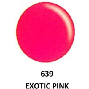 DND Duo GEL Pack - G639 Exotic Pink 1 Gel Polish 0.47 oz. + 1 Lacquer 0.47 oz. in Matching Color (23615639)