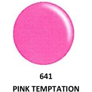 DND Duo GEL Pack - G641 Pink Temptation 1 Gel Polish 0.47 oz. + 1 Lacquer 0.47 oz. in Matching Color (23615641)