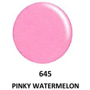 DND Duo GEL Pack - G645 Pink Watermelon 1 Gel Polish 0.47 oz. + 1 Lacquer 0.47 oz. in Matching Color (23615645)