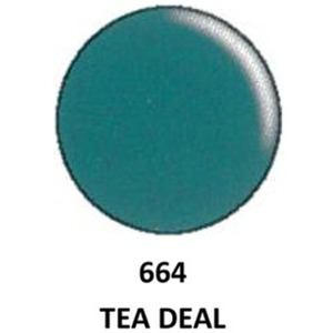 DND Duo GEL Pack - G664 Teal Deal 1 Gel Polish 0.47 oz. + 1 Lacquer 0.47 oz. in Matching Color (23615664)