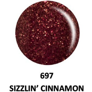 DND Duo GEL Pack - G697 Sizzlin Cinnamon 1 Gel Polish 0.47 oz. + 1 Lacquer 0.47 oz. in Matching Color (23615697)
