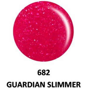 DND Duo GEL Pack - G682 Guardian Slimmer 1 Gel Polish 0.47 oz. + 1 Lacquer 0.47 oz. in Matching Color (23615682)