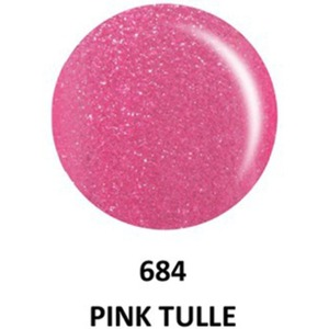 DND Duo GEL Pack - G684 Pink Tulle 1 Gel Polish 0.47 oz. + 1 Lacquer 0.47 oz. in Matching Color (23615684)