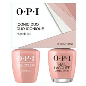 OPI Iconic Duo - GelColor + Nail Lacquer - SRJ58 (N52) - Humidi-Tea 0.5 oz. Each (SRJ58 - N52)