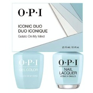 OPI Iconic Duo - GelColor + Nail Lacquer - SRJ65 (V33) - Gelato on My Mind 0.5 oz. Each (SRJ65 - V33)