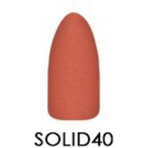 Chisel 2-in-1 Color Acrylic & Dipping Powder - Solid Collection - #SOLID40 2 oz. (SOLID40)