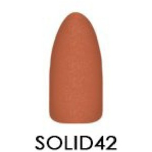 Chisel 2-in-1 Color Acrylic & Dipping Powder - Solid Collection - #SOLID42 2 oz. (SOLID42)