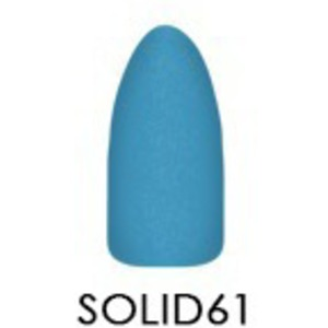 Chisel 2-in-1 Color Acrylic & Dipping Powder - Solid Collection - #SOLID61 2 oz. (SOLID61)
