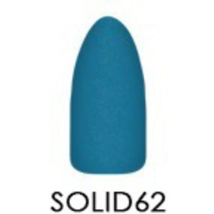 Chisel 2-in-1 Color Acrylic & Dipping Powder - Solid Collection - #SOLID62 2 oz. (SOLID62)