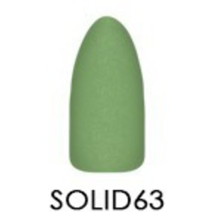 Chisel 2-in-1 Color Acrylic & Dipping Powder - Solid Collection - #SOLID63 2 oz. (SOLID63)
