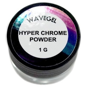 WaveGel Chrome Powder - Hyper Chrome 1 Gram (24555-01)