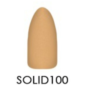Chisel 2-in-1 Color Acrylic & Dipping Powder - Solid Collection - #SOLID100 2 oz. (SOLID100)