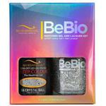 Bio Seaweed Gel - 3-STEP Color Gel Polish 0.5 oz. + Matching BeBio Nail Lacquer 0.5 oz. - #06 Crystal Ball (BSG 3STEP #06)