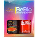 Bio Seaweed Gel - 3-STEP Color Gel Polish 0.5 oz. + Matching BeBio Nail Lacquer 0.5 oz. - #13 Cajun (BSG 3STEP #13)