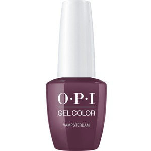 OPI GelColor Soak Off Gel Polish - Iconic OPI Shades Collection - #GCH63A - Vampsterdam 0.5 oz (#GCH63A)