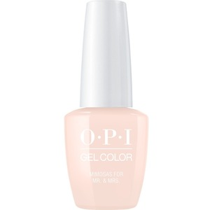 OPI GelColor Soak Off Gel Polish - Iconic OPI Shades Collection - #GCR41 - Mimosa for the Mr. & Mrs 0.5 oz (#GCR41)