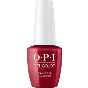 OPI GelColor Soak Off Gel Polish - Iconic OPI Shades Collection - #GCR53 - An Affair in Red Square 0.5 oz (#GCR53)