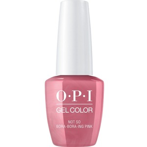 OPI GelColor Soak Off Gel Polish - Iconic OPI Shades Collection - #GCS45 - Not So Bora-Bora-ing Pink 0.5 oz (#GCS45)