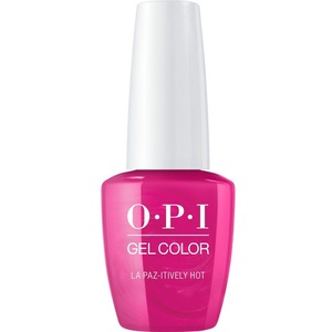 OPI GelColor Soak Off Gel Polish - Iconic OPI Shades Collection - #GCA20 - La Paz-tively Hot 0.5 oz (#GCA20)
