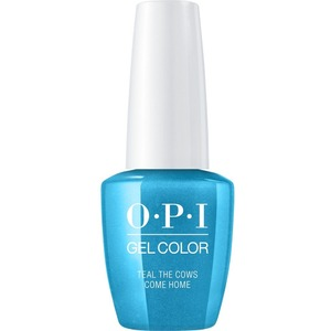 OPI GelColor Soak Off Gel Polish - Iconic OPI Shades Collection - #GCB54 - Teal the Cows Come Home 0.5 oz (#GCB54)