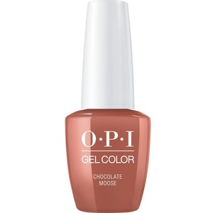 OPI GelColor Soak Off Gel Polish - Iconic OPI Shades Collection - #GCC89 - Chocolate Moose 0.5 oz (#GCC89)