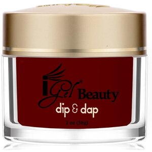 iGel Dip & Dap Powder - DARK CRIMSON - DD34 2 oz. (DD34)