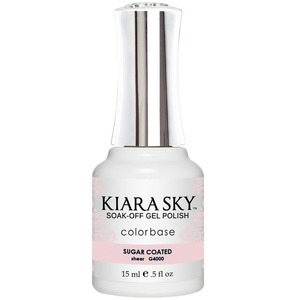 Kiara Sky Gel Polish - Jelly Collection - Sugar Coated - #4000 0.5 oz. (#4000)