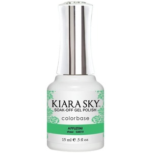 Kiara Sky Gel Polish - Jelly Collection - Appletini - #4010 0.5 oz. (#4010)