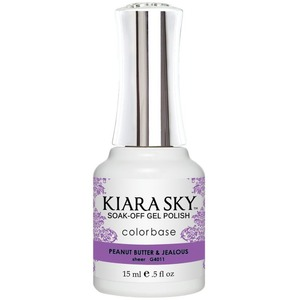 Kiara Sky Gel Polish - Jelly Collection - Peanut Butter & Jealous - #4011 0.5 oz. (#4011)