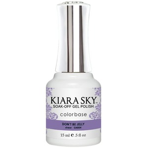 Kiara Sky Gel Polish - Jelly Collection - Don't Be Jelly - #4004 0.5 oz. (#4004)