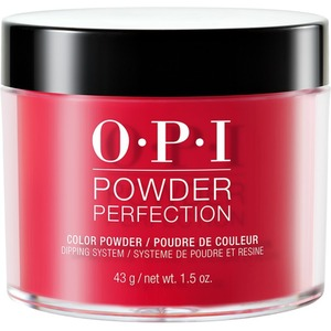 OPI Powder Perfection - Color Dipping Powder - #DPA70 - Red Hot Rio 1.5 oz. (#DPA70)