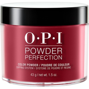 OPI Powder Perfection - Color Dipping Powder - #DPH02 - Chick Flick Cherry 1.5 oz. (#DPH02)